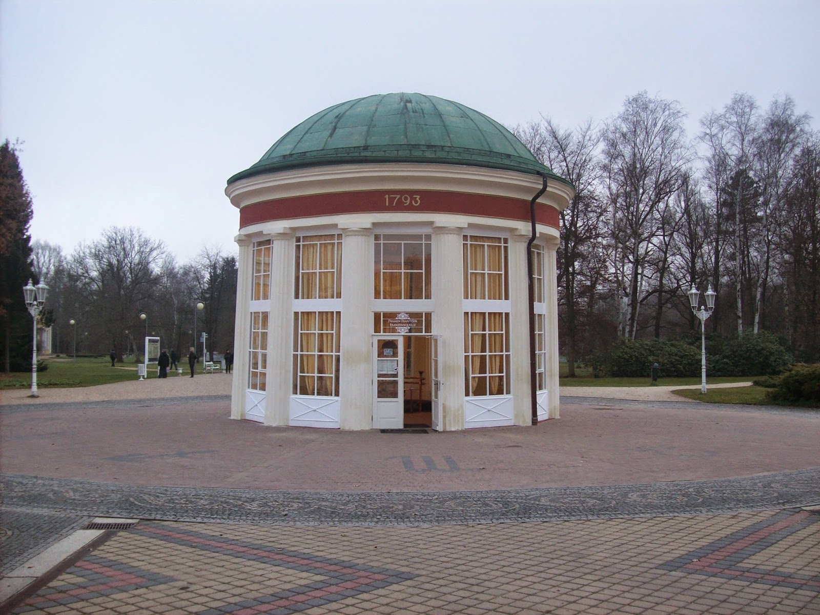 Cidade termal na República Tcheca