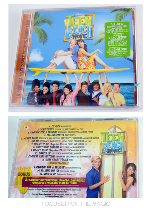 Teen Beach Movie CD Sing Into Spring Giveaway from Walt Disney Records