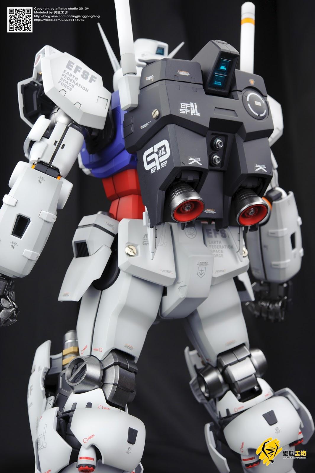Gundam Family: MG 1/100 RX-78GP01 Gundam GP01 Zephyranthes
