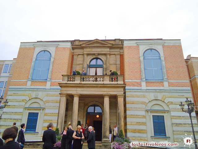 Festspielhaus en Bayreuth, Wagner