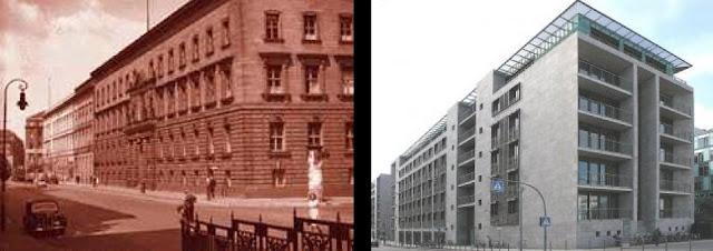 Wilhelmstraße – ulica, ważna arteria komunikacyjna centralnych dzielnic Berlina – Mitte i Kreuzbergu, dług. 2,4 km. Do 1945 przy ulicy miały swoją siedzibę różnego rodzaju instytucje rządowe, najpierw Królestwa Prus, później zjednoczonej Rzeszy Niemieckiej, Niemieckiej Republiki Demokratycznej, obecnie Republiki Federalnej Niemiec.  Spis treści      1 do 1945 roku     2 po 1945 roku     3 po 1990 roku     4 Linki zewnętrzne     5 Przypisy  do 1945 roku  Zachowano ówczesną numerację domów.      Palais Fürstenberg, Berlińskie Towarzystwo Geograficzne (Gesellschaft für Erdkunde zu Berlin) (Wilhelmstraße 23)     Urząd Skarbu Rzeszy (Reichsschatzamt), Ministerstwo Finansów Rzeszy (Reichsfinanzministerium) (61)     Urząd Kolonii Rzeszy (Reichskolonialamt) (62)     Pruskie Ministerstwo Stanu (Preußisches Staatsministerium) (63)     Tajny Gabinet Cywilny (Geheimes Zivilkabinett) (64)     Pruskie Ministerstwo Sprawiedliwości (Preußisches Justizministerium) (65)     Pruskie Ministerstwo Kultury (Preußisches Kultusministerium) (68)     Ambasada Brytyjska (Britische Botschaft) (70)     Ministerstwo Wyżywienia i Rolnictwa Rzeszy (Reichsministerium für Ernährung und Landwirtschaft) (72)     Pałac Prezydentów Rzeszy Republiki Weimarskiej (Palais des Reichspräsidenten der Weimarer Republik) (73, do 1919: Ministerstwo Obiektów Królewskich (Ministerium des königlichen Hauses)     Urząd Spraw Wewnętrznych (Reichsamt des Innern) (74, od 1919: Urząd Spraw Zagranicznych - Auswärtiges Amt)     Urząd Spraw Zagranicznych (Auswärtiges Amt) (75/76)     Stara Kancelaria Rzeszy (Alte Reichskanzlei) (77) (1875-1938)     obiekt Kancelarii Rzeszy (Erweiterungsbau zur Reichskanzlei) (78)     Nowa Kancelaria Rzeszy (Neue Reichskanzlei) (róg Wilhelmstraße/Voßstraße)     Ministerstwo Komunikacji Rzeszy (Reichsverkehrsministerium) (79/80)     Ministerstwo Lotnictwa Rzeszy (Reichsluftfahrtministerium) wraz z Wyższym Dowództwem Sił Lotniczych (Oberkommando der Luftwaffe) (81–85; obecnie Detlev-Rohwedder-