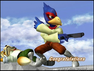 falco melee classic congratulations