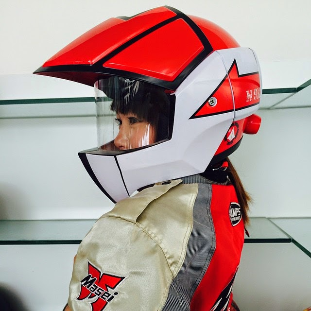 Robotech cyclone cosplay
