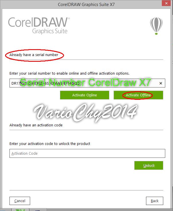Corel draw x7 activation code 64 bit free