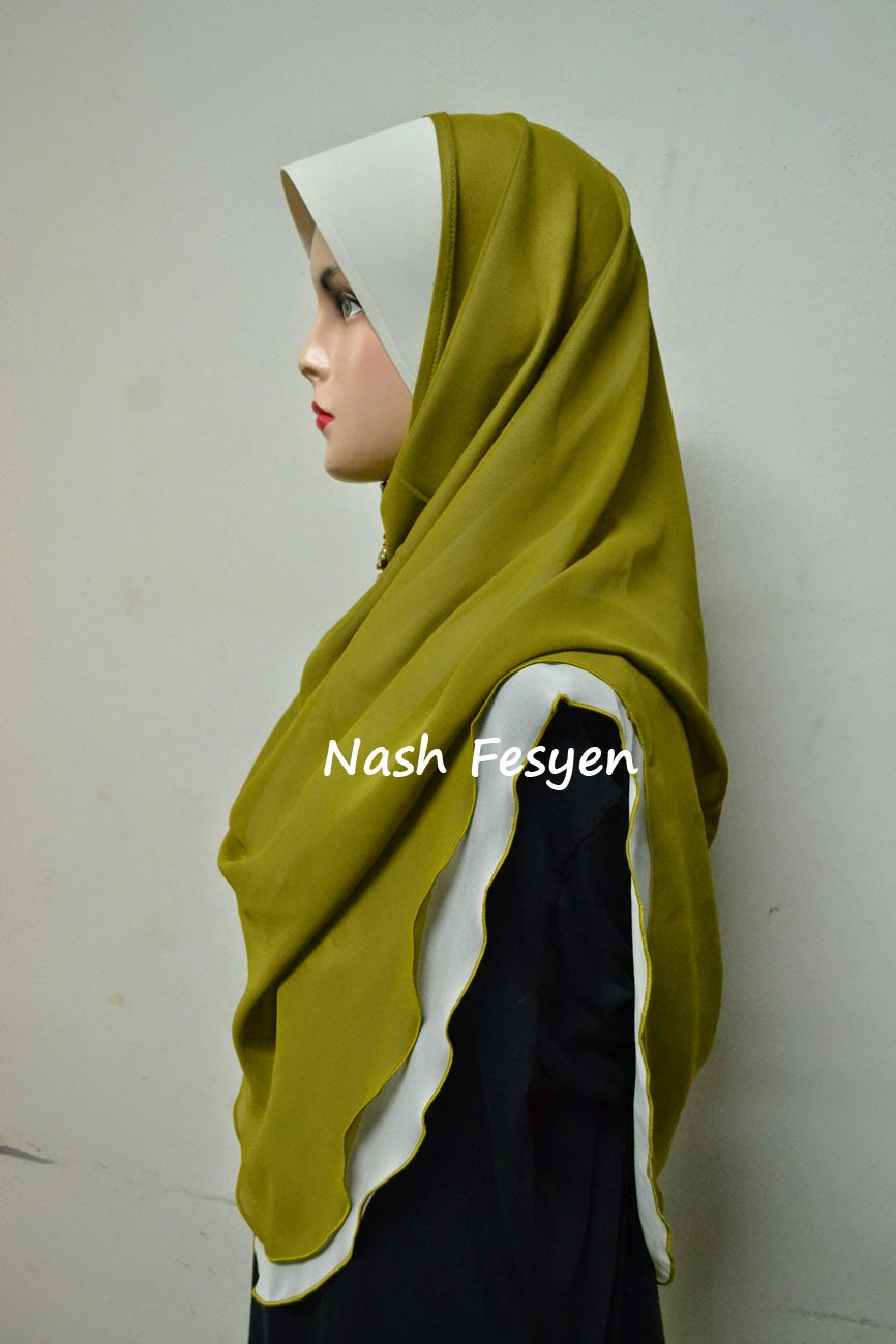 tudung 2 layer hard awning