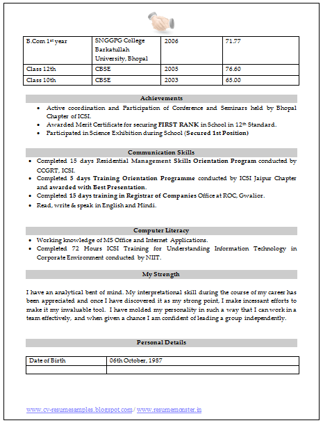 10000 cv and resume sles with free how