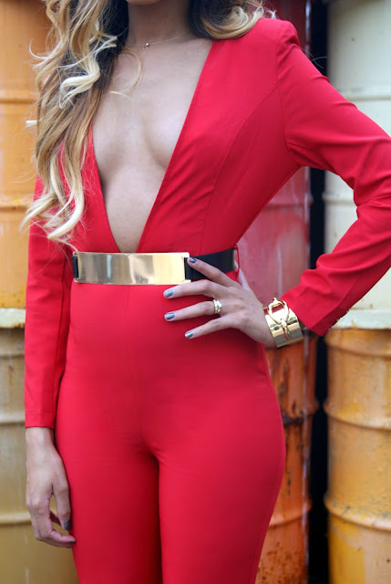red jumpsuit, allthingsslim,