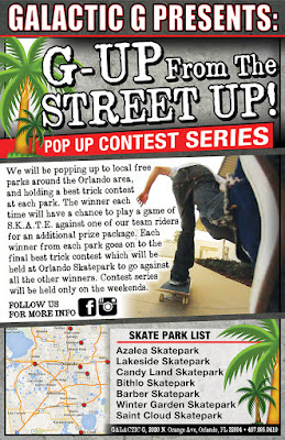 Skateboard Contest Series Orlando Florida