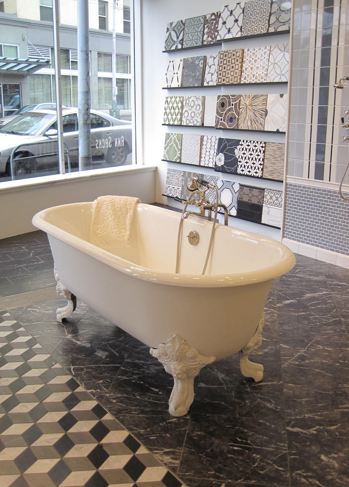 Courtney Lane Field Trip To Ann Sacks Designer Tile - Designer tub and tile