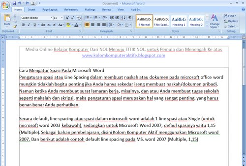 microsoft office word adalah