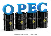 OPEC Oil barrels (Credit: Shutterstock) Click to Enlarge.