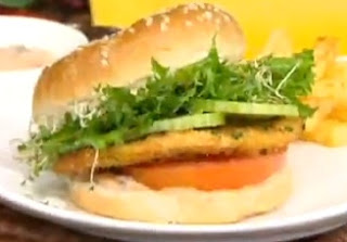 Imperdibles Hamburguesas de Pollo