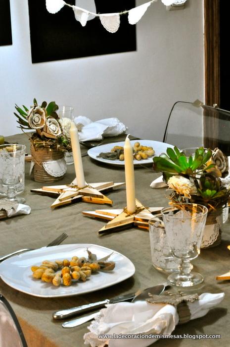 Decoraci n mesa de navidad - Decoracion navidad mesa ...