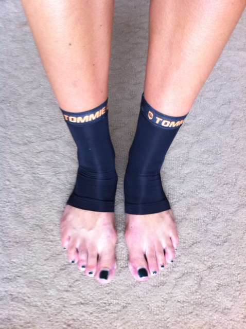 Copper Ankle Sleeve Compression Wear