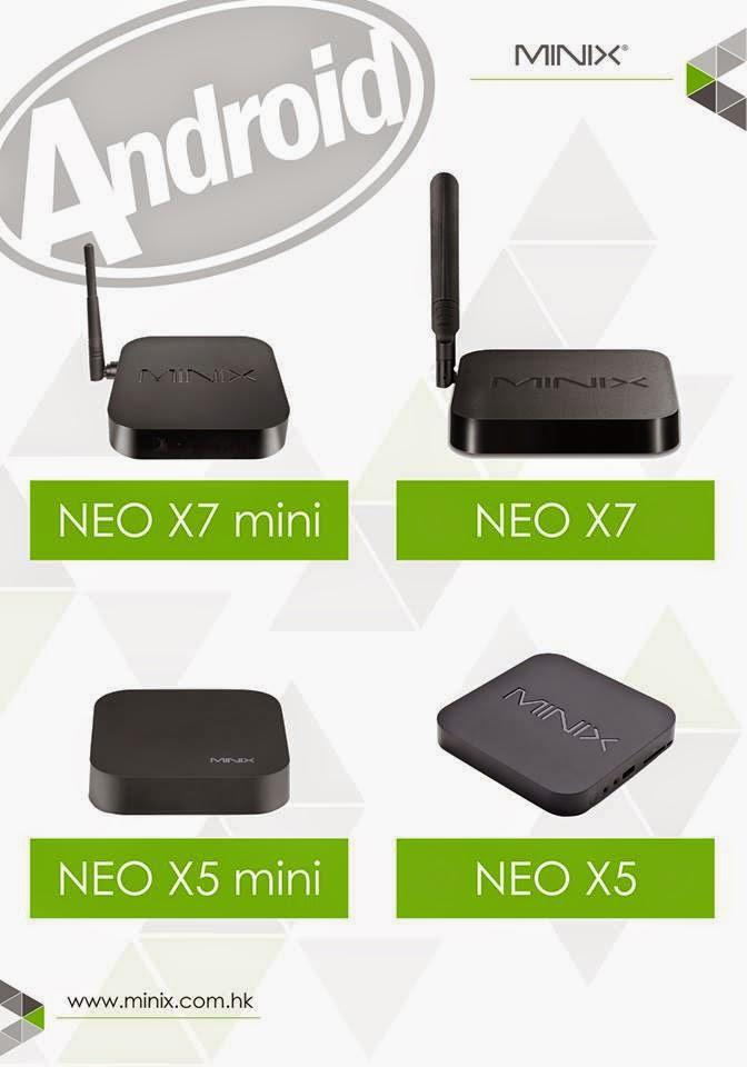 Firmware 230 KITKAT para MINIX X5 - X5 Mini - X7 y X7 Mini