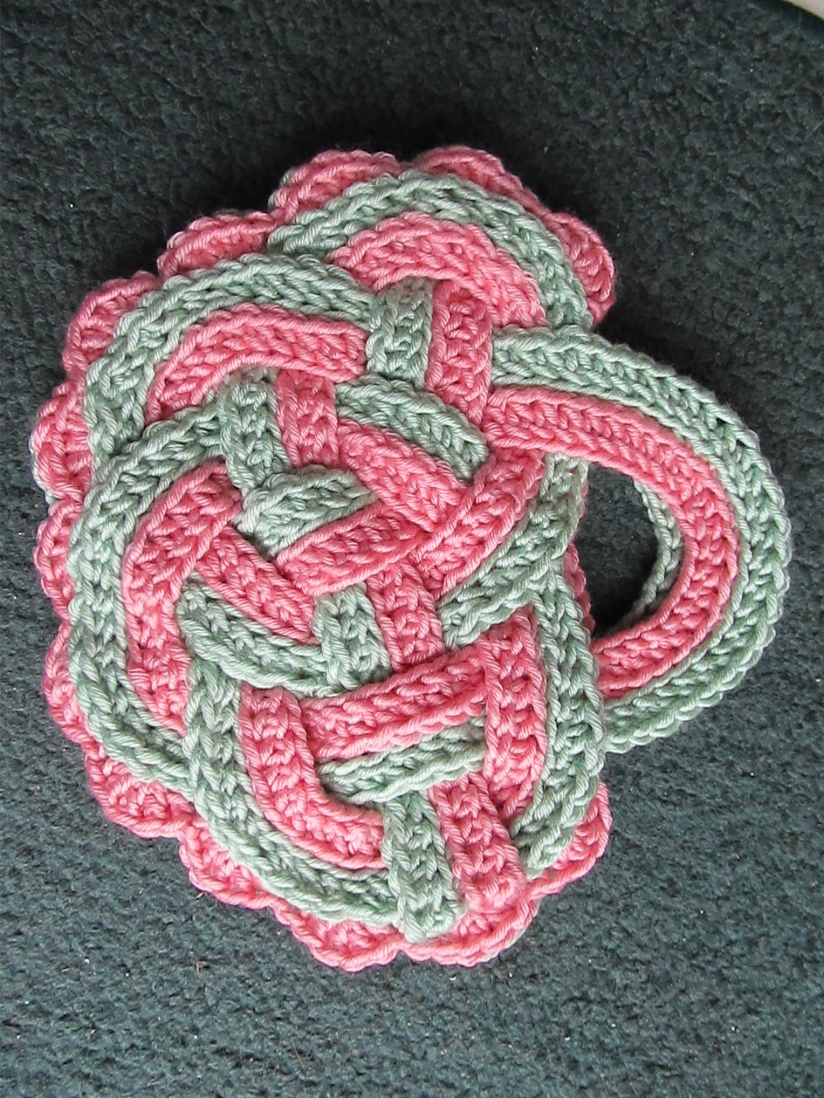 Celtic Knot Crochet: Patterns Coming Soon to Ravelry