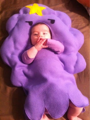 Lumpy Space Princess Baby Costume
