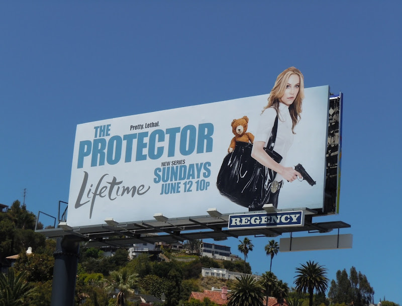 The Protector Ally Walker billboard