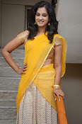 Nanditha raj latest photos in half saree-thumbnail-8