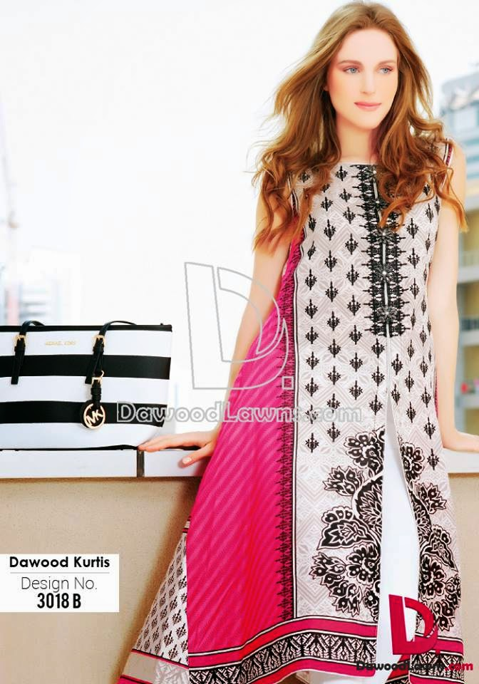 Latest cotton kurtis design 2015