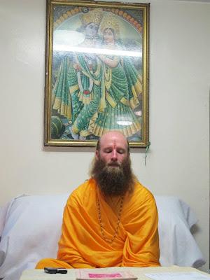Swami Nikhilanand is a disciple of Jagadguru Kripaluji Maharaj