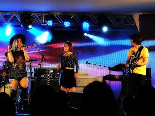 Banda Melody na Festa Nacional da Música de 2015.