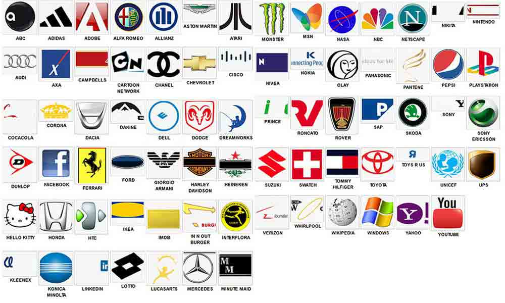 logos and brands quiz