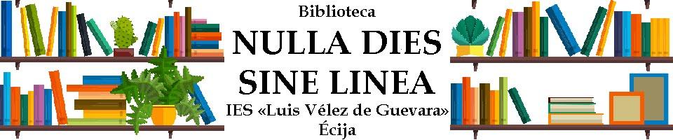 Bilioteca «Nulla Dies Sine Linea»