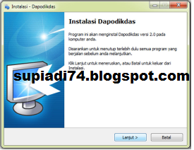 dapodikdas 2013 http 118 98 166 59 database prefill adalah data