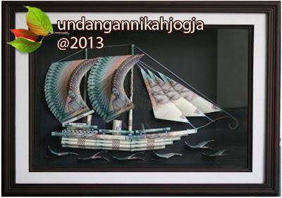 Mahar pernikahan model Kapal Layar