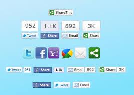 Add 6 Best | Beautiful | Cool Looking Social Bookmarking Sharing Buttons Widget | Gadget On Blogger Blogspot
