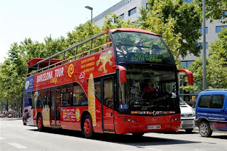 Barcelona-Sightseeing-Bus tour-outlook