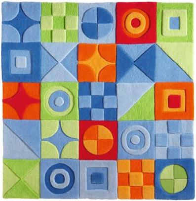 Muebles y decoraci n de interiores de moda alfombras con - Alfombras infantiles para jugar ...