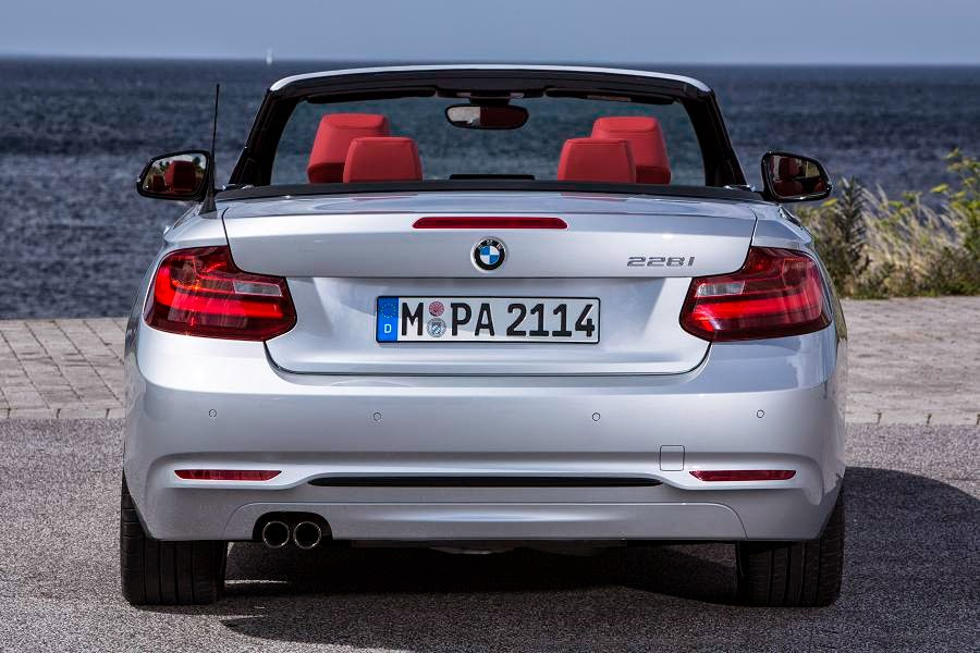 BMW 2 Series Convertible Sport (2015) Rear