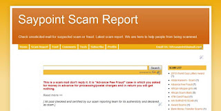 scam reporting sites