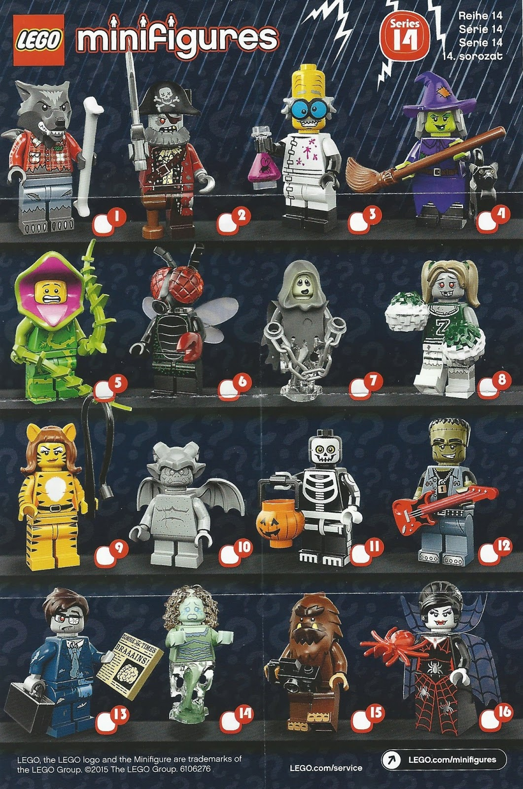 The Minifigure Collector Lego Minifigures Series 14
