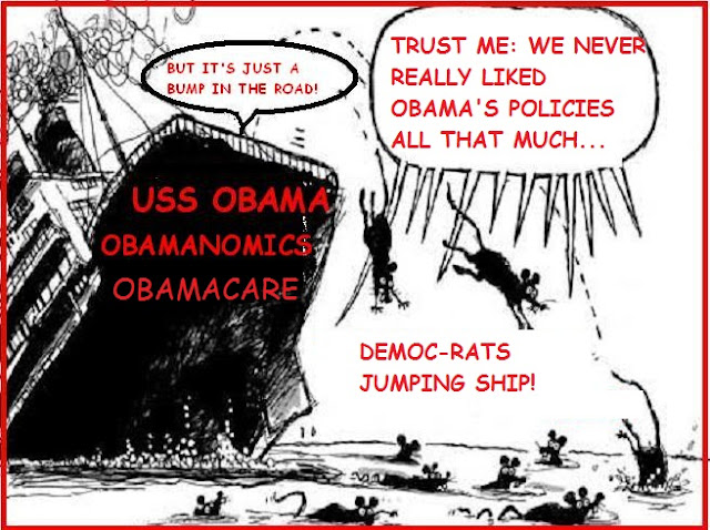 The Astute Bloggers Wow Dems Jumping Off Obama S Sinking