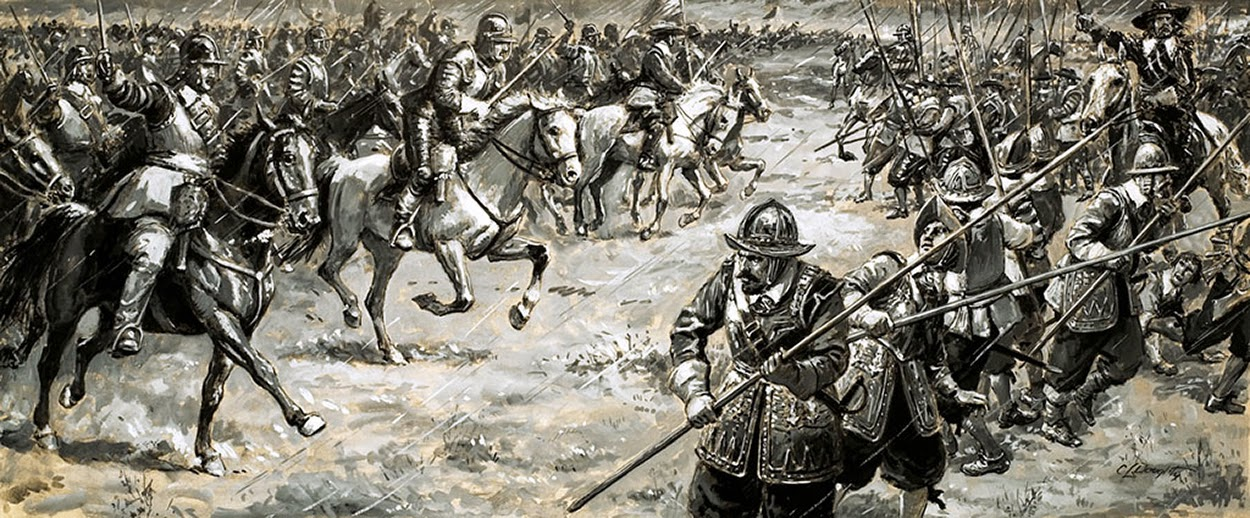 The Battle Of Naseby by Cecil Doughty