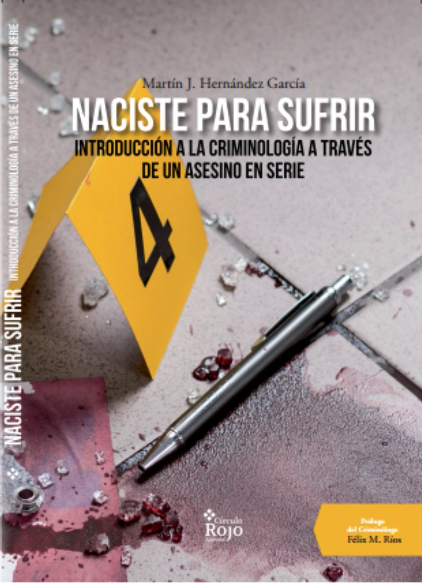 LIBRO 'NACISTE PARA SUFRIR'
