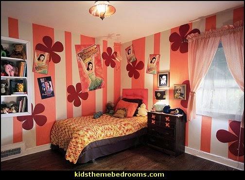 Decorating theme bedrooms Maries Manor Groovy Funky Retro