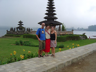 vacation in Bali, Hindu temple in Bedugul, Pura in Bali