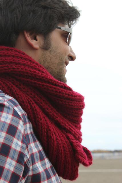 MATERIALES Y COMO HACER PASO A PASO EN http//ohmothermine.blogspot.com.es/2012/11/diy,como,hacer,una,bufanda,para,hombre.html