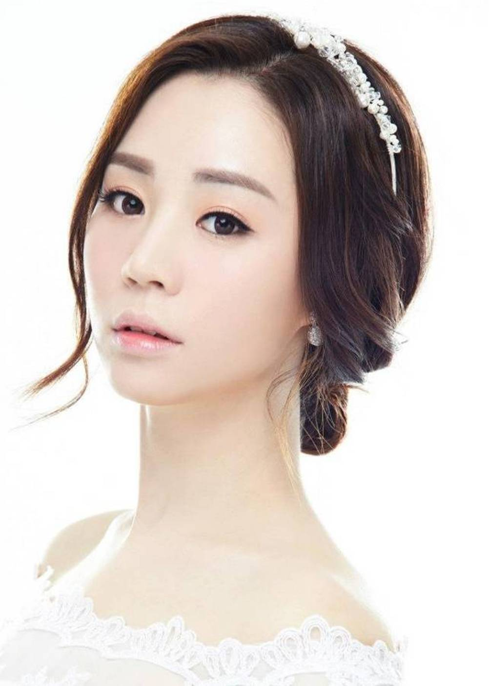 14 Best Korean Wedding Hairstyle 2015 Image And Picture