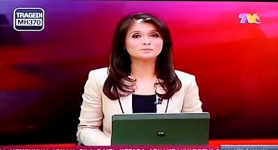 Muka Comel Pembaca Berita TV3 Tidak Perasan Tengah LIVE