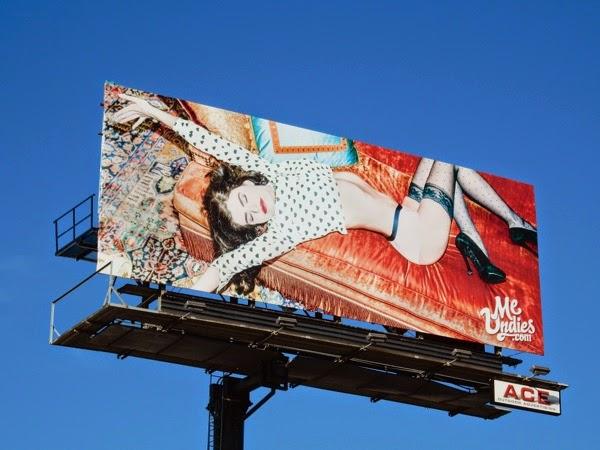 MeUndies womens underwear 2015 billboard