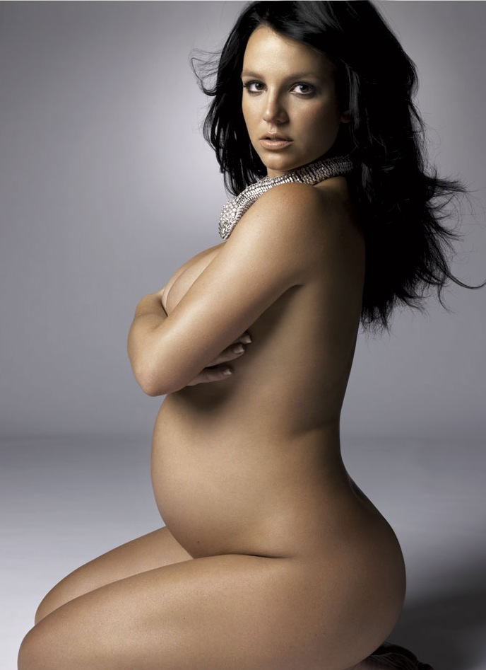more nude britney spears A pregnant woman