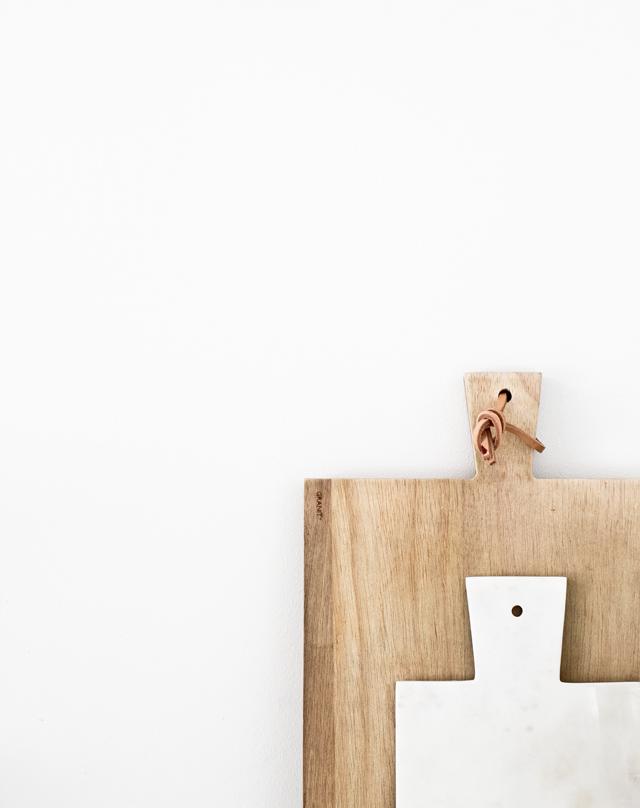 tabla de cortar, madera, mármol, cocina, dekoloop