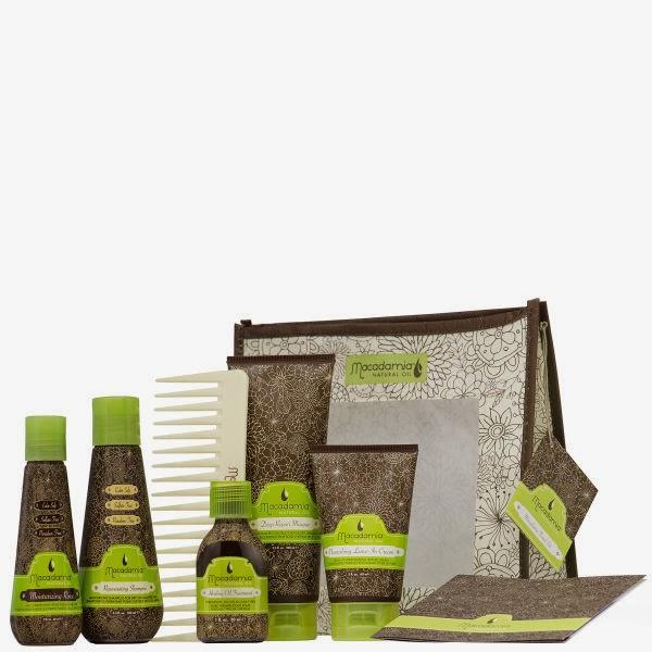 Macadamia Natural Oil  Luxe Travel kit