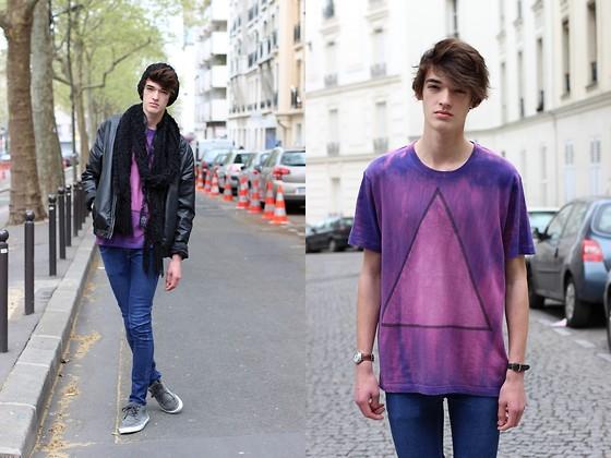 como fazer usar tie dye masculino