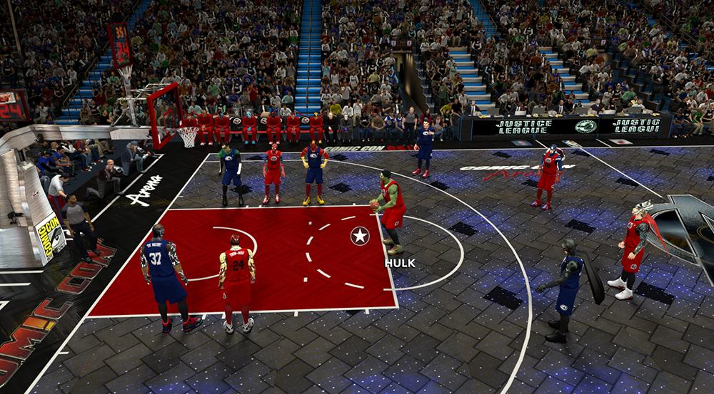 NBA 2K14 Comic-Con Mod